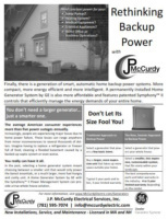 McCurdy Electric Generator Flyer